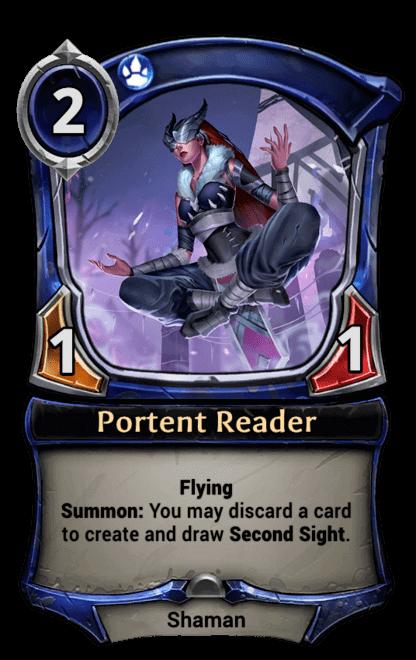 Card image for Portent Reader