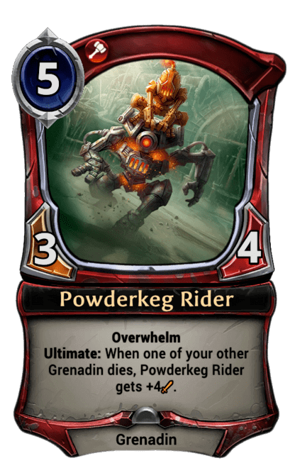 Card image for Powderkeg Rider