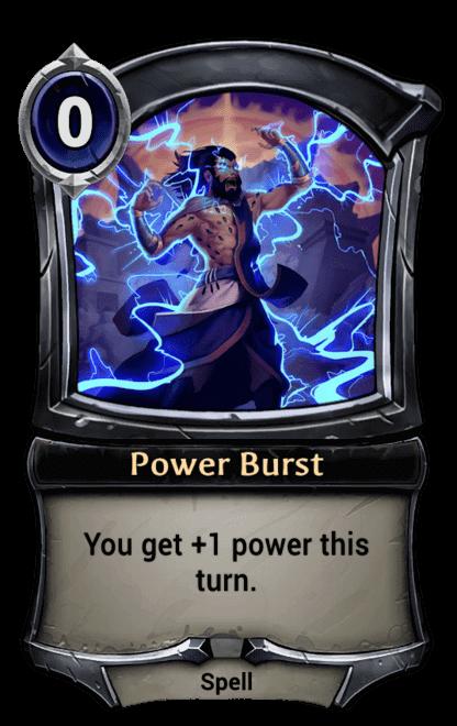 Card image for Power Burst