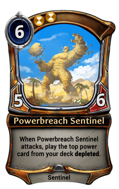 Card image for Powerbreach Sentinel