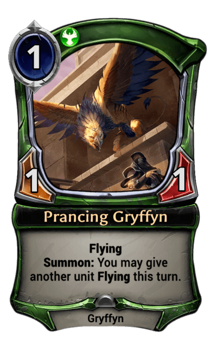Card image for Prancing Gryffyn