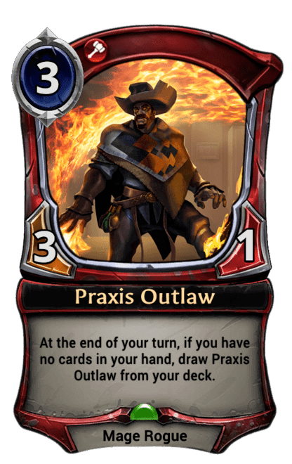 Card image for Praxis Outlaw