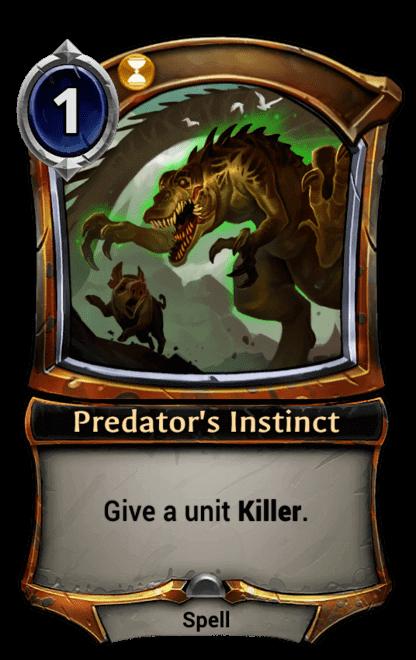Card image for Predator's Instinct