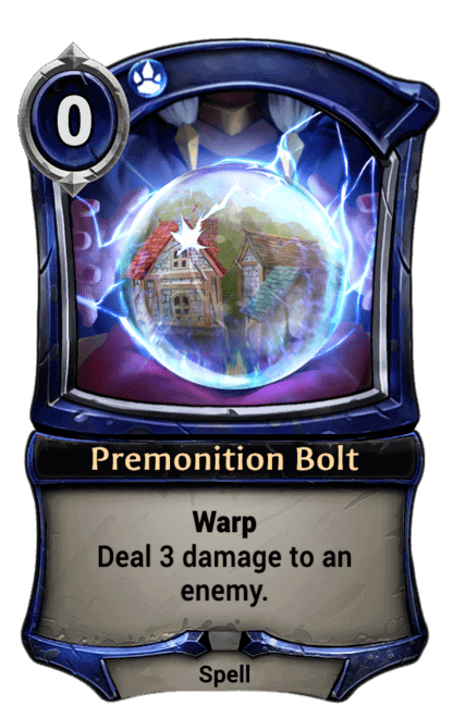 Card image for Premonition Bolt