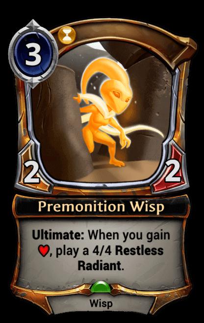 Card image for Premonition Wisp
