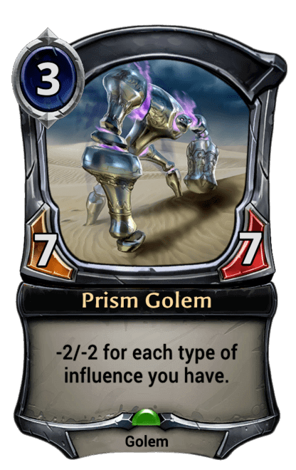 Card image for Prism Golem