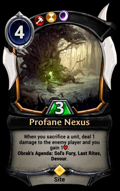 Card image for Profane Nexus
