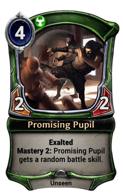 Card image for Promising Pupil
