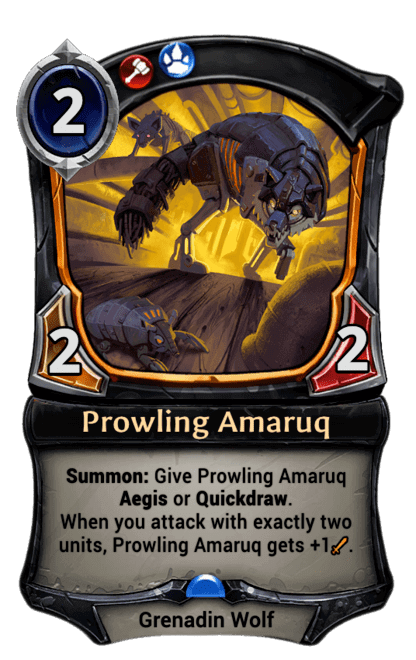 Card image for Prowling Amaruq