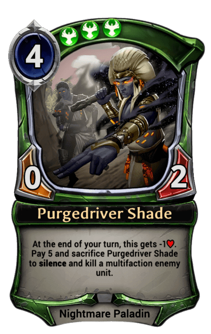 Card image for Purgedriver Shade