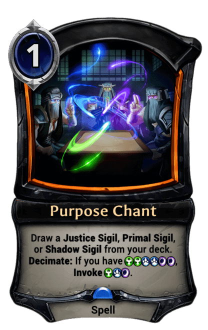 Card image for Purpose Chant