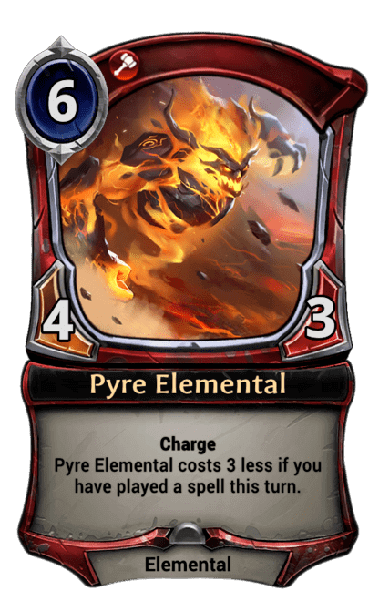 Card image for Pyre Elemental