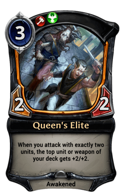 Card image for Queen's Elite