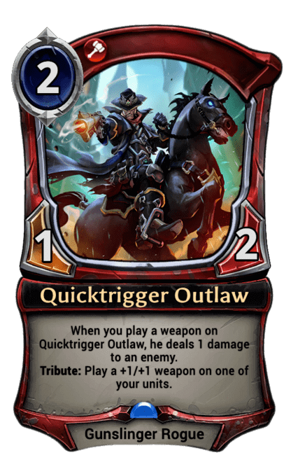 Card image for Quicktrigger Outlaw