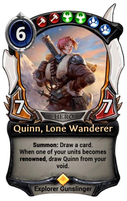 Card image for Quinn, Lone Wanderer
