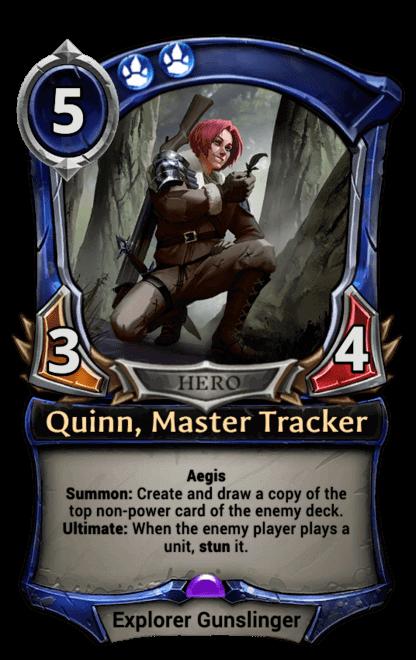 Card image for Quinn, Master Tracker