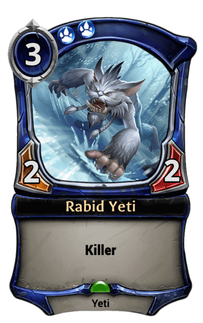 Card image for Rabid Yeti