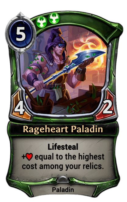 Card image for Rageheart Paladin