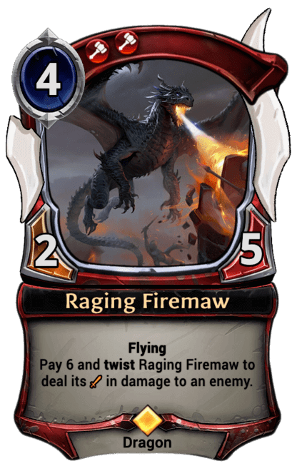 Card image for Raging Firemaw