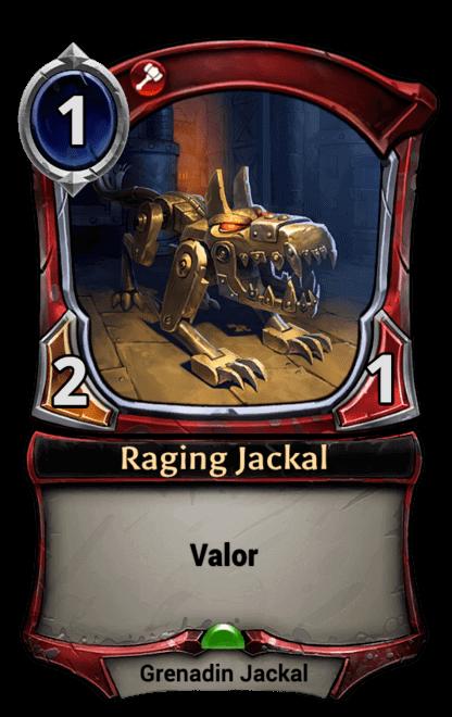 Card image for Raging Jackal