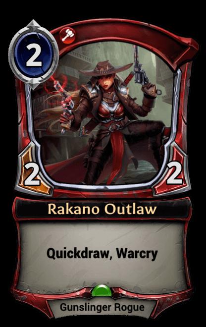 Card image for Rakano Outlaw