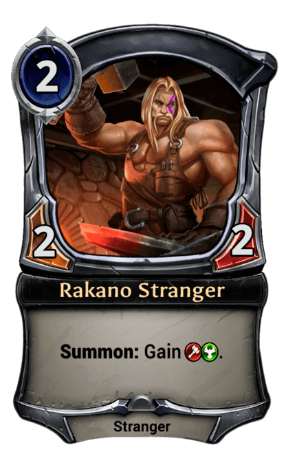 Card image for Rakano Stranger