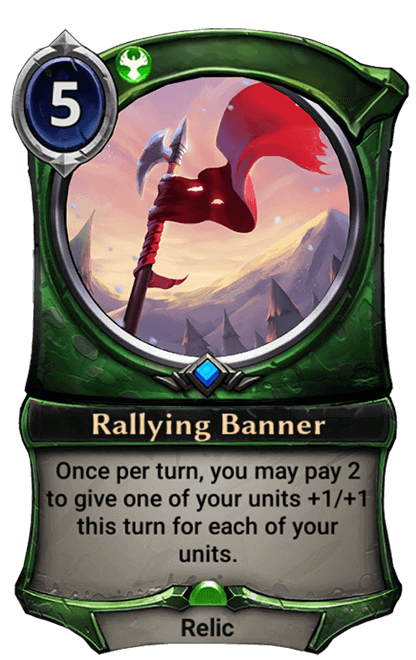 Card image for Rallying Banner