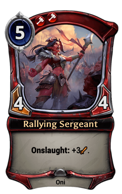 Card image for Rallying Sergeant