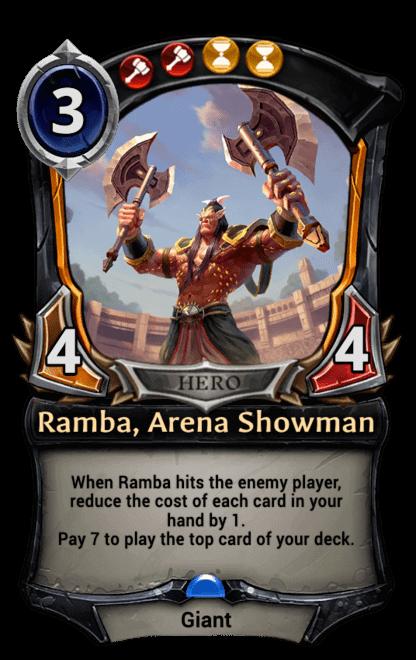 Card image for Ramba, Arena Showman