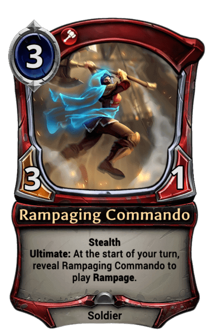 Card image for Rampaging Commando