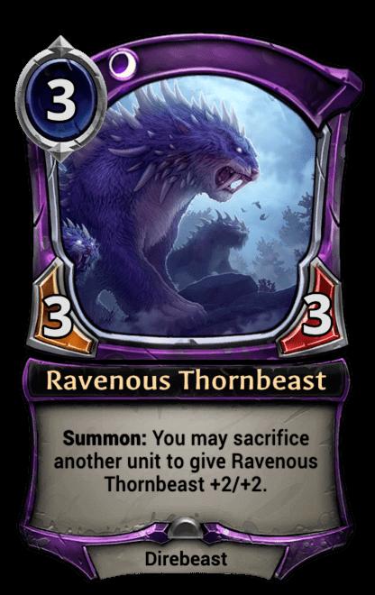 Card image for Ravenous Thornbeast