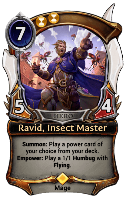 Card image for Ravid, Insect Master