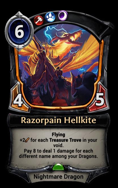 Card image for Razorpain Hellkite