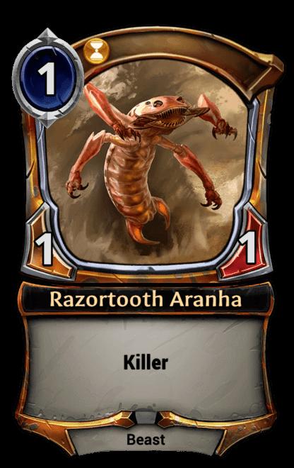 Card image for Razortooth Aranha