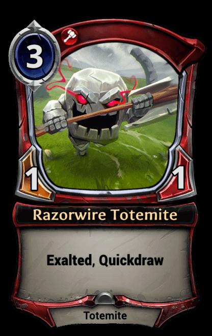 Card image for Razorwire Totemite