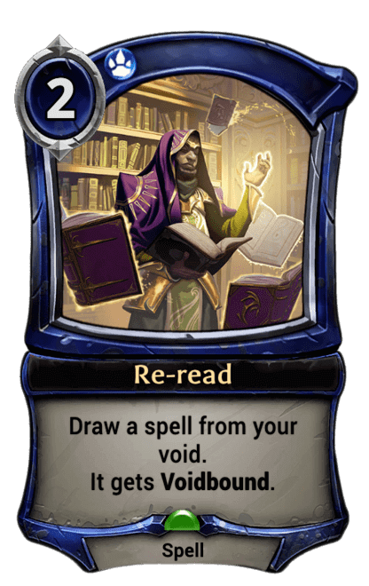 Card image for Re-read
