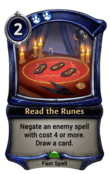Card image for Read the Runes