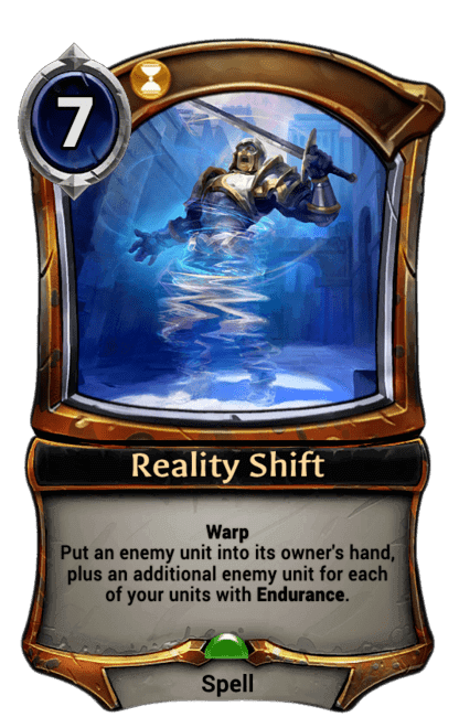 Card image for Reality Shift
