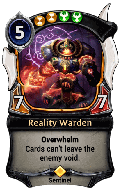 Card image for Reality Warden
