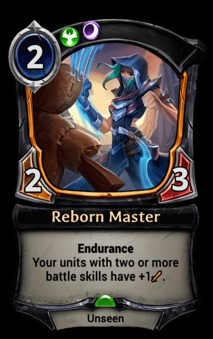 Card image for Reborn Master