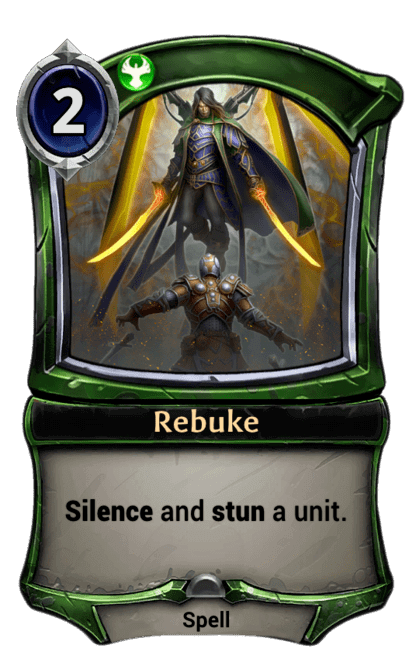 Card image for Rebuke