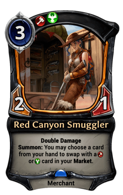 Card image for Red Canyon Smuggler