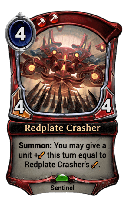 Card image for Redplate Crasher