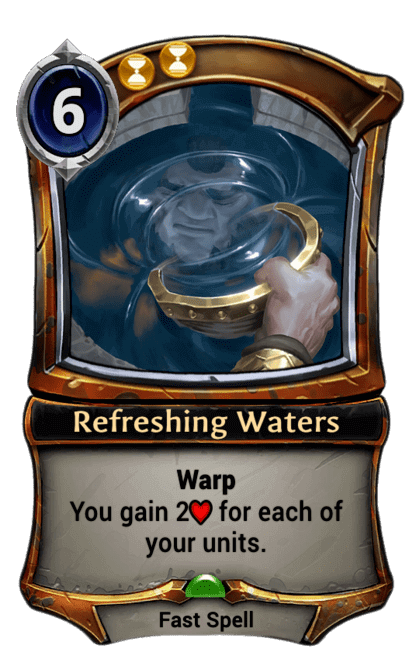 Card image for Refreshing Waters