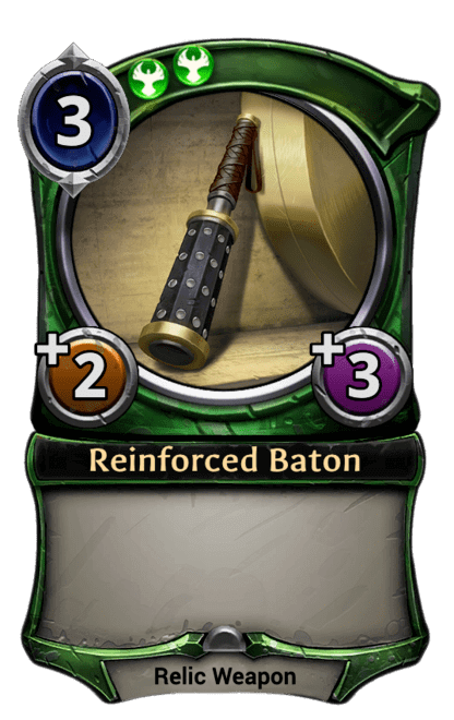 Card image for Reinforced Baton