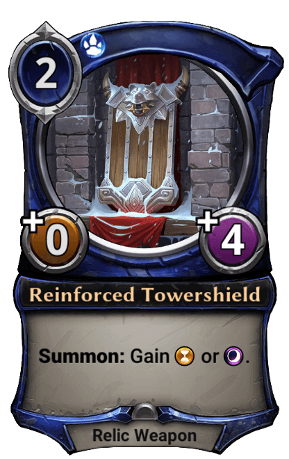 Card image for Reinforced Tower Shield