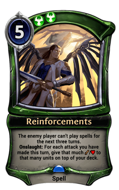 Card image for Reinforcements