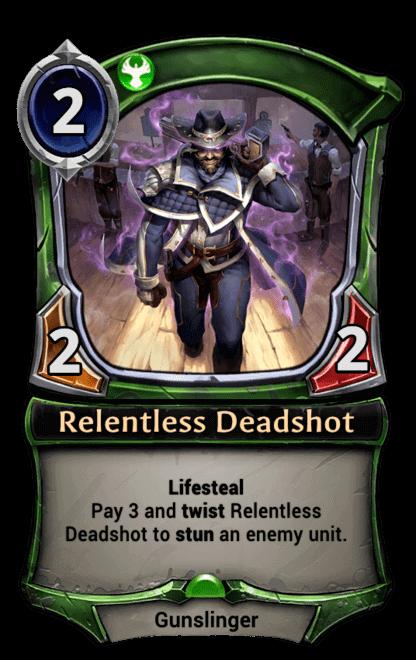 Card image for Relentless Deadshot