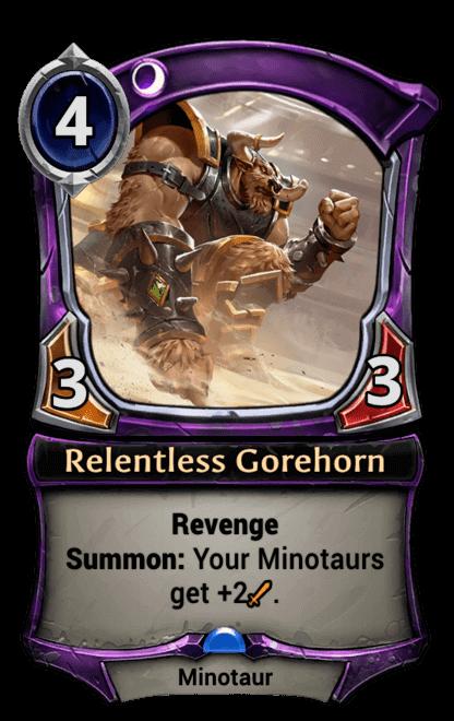 Card image for Relentless Gorehorn