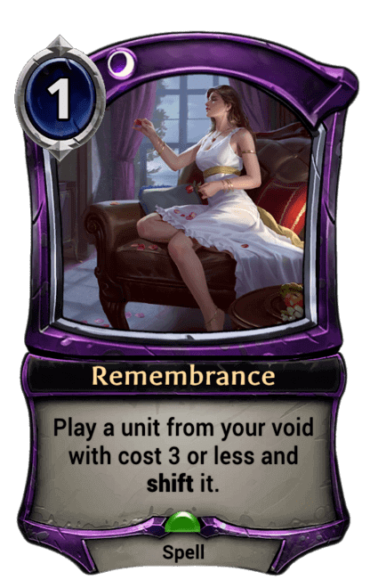 Card image for Remembrance
